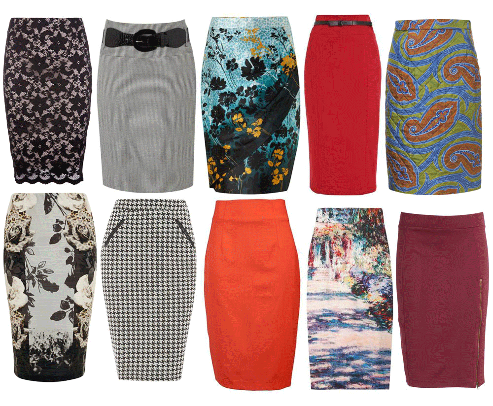 Inexpensive Pencil Skirts